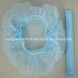 Wegwerfhotel-Gebrauch-Plastikdusche-Bouffant Schutzkappe, die Maschine herstellt