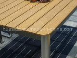 Jardim / pátio / Restaurante Mesa de jantar exterior de aço inoxidável usada