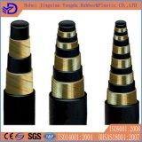 4sh 4sp Hochdruckanwendungs-hydraulischer Gummischlauch
