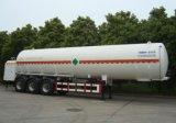 수출을%s 반 50m3 세 배 차축 연료 탱크 트레일러