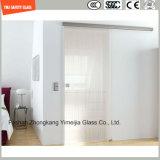 impresión del Silkscreen de 4-19m m/grabado de pistas ácido/helado/modelo y gafa de seguridad clara para el cuarto de baño, recinto de la pantalla de la puerta de cabina de la ducha para Hotel&Home con Ce/SGCC/ISO/3c
