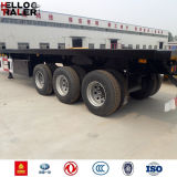 Tri-Axle 40 Feet Tractor Remolque Remolque para Remolque
