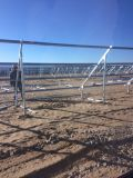 PVの発電所のための太陽電池パネルの据付
