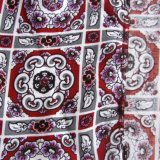 Напечатанный Weave ткани рейона обыкновенный толком для одежды женщин