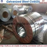 Bobina de acero galvanizada sumergida caliente del material de construcción para el edificio