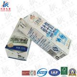 material del acondicionamiento aséptico 200ml para la leche