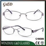 Lente Eyewear del marco óptico de los vidrios del metal de la manera del modelo nuevo