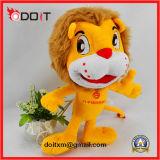 Brinquedo de brinquedo animal de peluche Leão de pelúcia