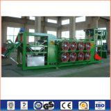 Máquina refrigerando da folha de borracha