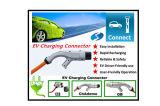 EV DCのChademoの速い充電器のコネクターが付いている電気自動車のための速い料金端末