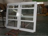 Gute Qualitätsdoppeltes hing Aluminiumfenster