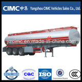 Cimc 40m3 Oil Fuel Tanker Trailer con Three Axles