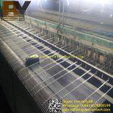 Revêtement décoratif de façade de construction de treillis métallique en métal
