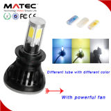 Campione Guangzhou disponibile Matec LED 4300k 6000k 8000k H4 H7 9004 un faro dei 9005 LED