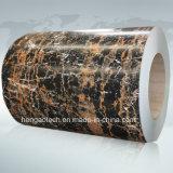 Bobina preverniciata grano di marmo della lamiera di acciaio, PPGI, PPGL