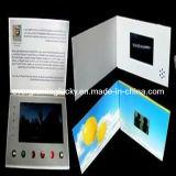 il video opuscolo di pubblicità 128MB con progetta e stampa di marchio