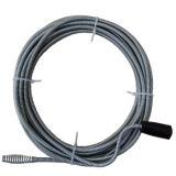 Drenar o banheiro do toalete de Unblocker Rod da tubulação da serpente do dissipador da ferramenta da limpeza