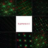 無線リモート・コントロール移動クリスマスパターンが付いている屋外のレーザー光線