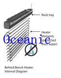 Calentador inferior invisible oceánico de la sauna del banco