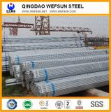 Caliente de Ss400 Q235 sumergido galvanizado alrededor del tubo de acero
