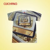 T-shirt feito-à-medida do Sublimation, t-shirt do Sublimation, t-shirt do costume do Sublimation