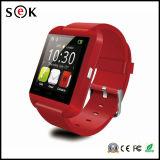 最も安い1.44インチのタッチ画面のセリウムのRoHS U8のスマートな腕時計の電話