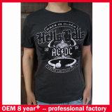 Concevoir le T-shirt en gros chaud d'hommes d'impression d'écran de mode de coton
