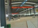 Gruppo di lavoro pre costruito/magazzino della struttura d'acciaio con la gru
