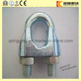Зажим веревочки провода нержавеющей стали DIN741 3mm двойной гальванизированный