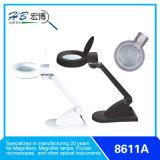 Kursteilnehmer-Vergrößerungsglas-Schreibtisch-Lampe