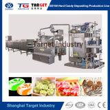 Máquina hervida automática llena de la producción del caramelo/caramelo duro que hace la máquina con control del PLC