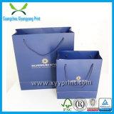 Bolso decorativo del regalo del papel de las compras de la impresión para la fábrica del regalo