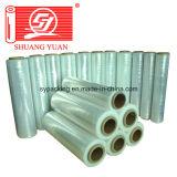 alta pellicola della mano della pellicola dell'involucro di stirata dell'acetato LLDPE di 4cm-100cm con il rapporto dello SGS
