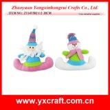Decoratieve Kerstman van het Stuk speelgoed van het Cijfer van Kerstmis van de Decoratie van Kerstmis (zy14y582-1-2) Grappige