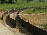 縁が付いている沈泥の塀