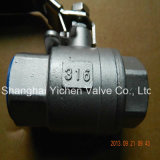 2PC Threaded Ball Valve