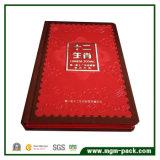 Boîte de rangement en cuir de luxe pour timbres commémoratifs