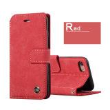 Случай сотового телефона PU Flip бумажника магнитный сложенный кожаный