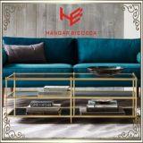 側面表(RS161004)のコンソールテーブルの茶表のステンレス鋼の家具のホーム家具のホテルの家具の現代家具表のコーヒーテーブルのコーナー表