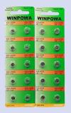 pilha da tecla da bateria Lr44 do relógio 1.5V