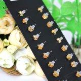 혼합 모조 진주 금 색깔 수정같은 모조 다이아몬드 장식 못 귀걸이 고정되는 제비