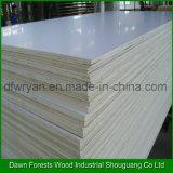 Chapas de madera laminada madera contrachapada de lujo Material Melamina Comercial
