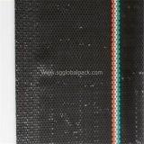 De Zwarte pp Geweven Omheining van uitstekende kwaliteit van het Slib