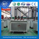 10kV/11kV trasformatore a bagno d'olio dell'alimentazione elettrica di distribuzione di memoria di sigillamento completo CRGO