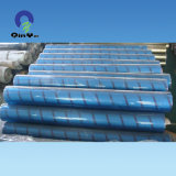 China Blue Flexible Film PVC transparent pour le paquet et l'impression