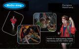 Camping Fishing Hiking Sailing Caving Cyclingのためのヘッドライト140lumen Headlamp
