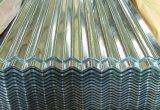 (0.12-0.8 milímetros) corrugou chapas de aço/placa de aço galvanizadas
