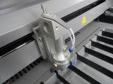Hohe Präzision CO2 Laser-Gefäß-Wasserkühlung-Tuch-Ausschnitt-Maschine mit Modell Dw1318