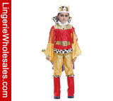 Partei-neue Stadiums-Leistungs-Könige Cospaly Costumes der Kinder für Jungen