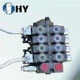 válvula direcional hidráulica do carretel 65L/min 4 com as 2 alavancas de inversão